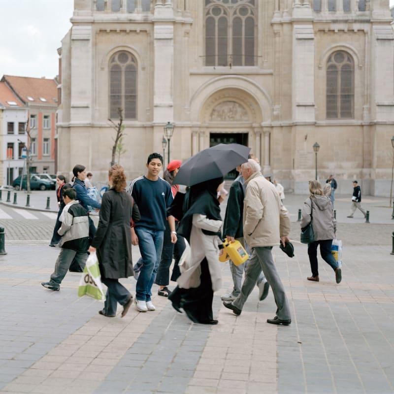 Sébastien Camboulive Bruxelles Saint-Gilles Tirage jet d'encre sur papier Hahnemuhle photo rag 308g 75 x 95 cm Dim. papier: 77 x 97 cm