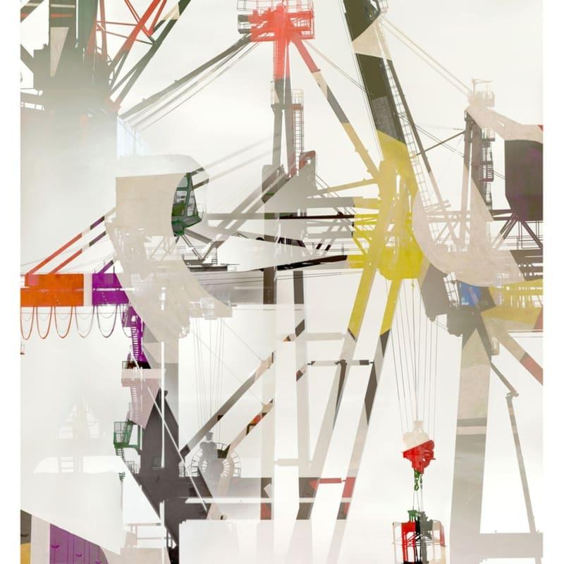 Stéphane Couturier Sète - Port de Commerce n° 2 Tirage C-Print 130 x 97,5 cm Dim. papier: 140 x 105 cm