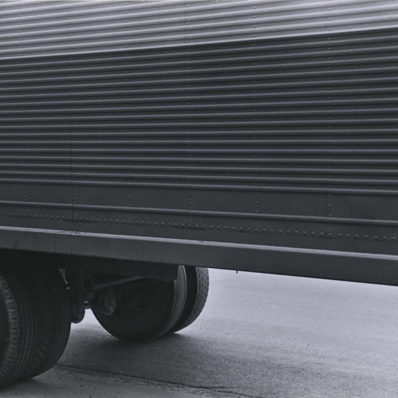 Tom Arndt Truck Detail, Minneapolis Tirage gélatino-argentique d'époque, réalisé par l'artiste 11 x 16,2 cm Dim. papier: 20,5 x 25 cm