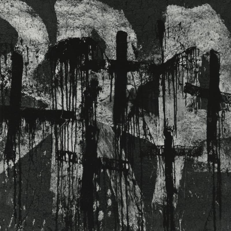 Aaron Siskind Lima 12 Tirage gélatino-argentique postérieur 24,7 x 25,3 cm Dim. papier: 28 x 35 cm