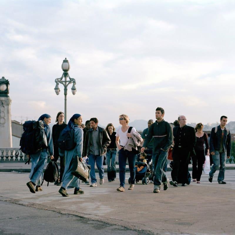 Sébastien Camboulive Marseille, Gare Saint-Charles Tirage jet d'encre sur papier Hahnemuhle photo rag 308g 75 x 95 cm Dim. papier: 77 x 97 cm