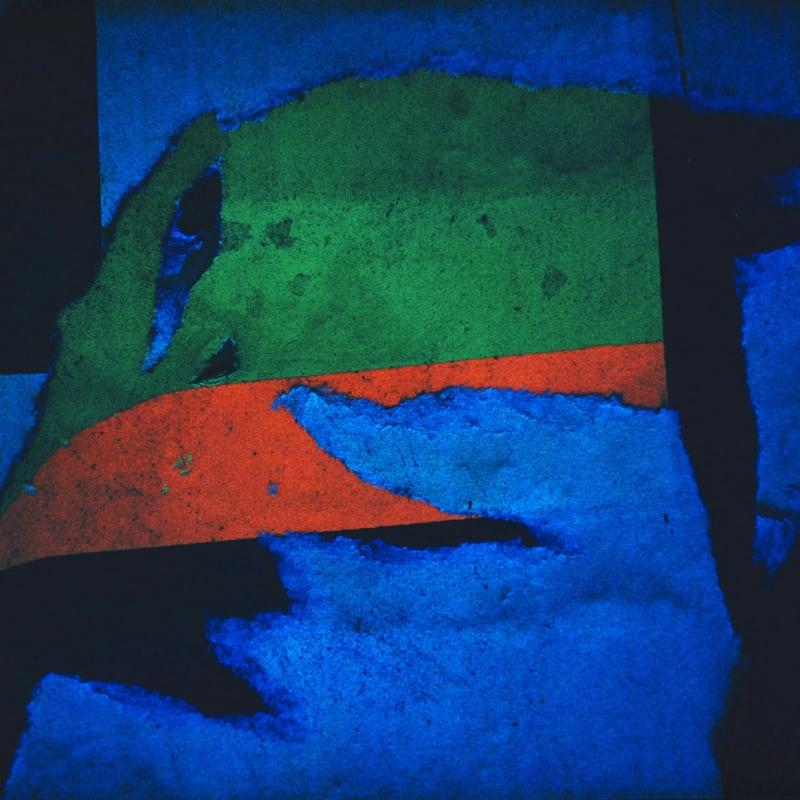 Ernst Haas Torn Poster, New York Dye transfer, tirage d'époque 54 x 37 cm Dim. papier: 70 x 54,5 cm