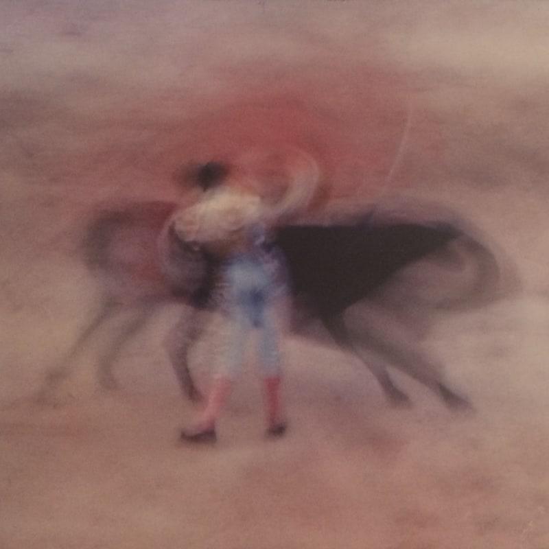 Ernst Haas Bullfight, Spain Tirage Dye transfer d'époque, contrecollé sur un encadrement bois Dim. papier: 23,5 x 33,7 cm