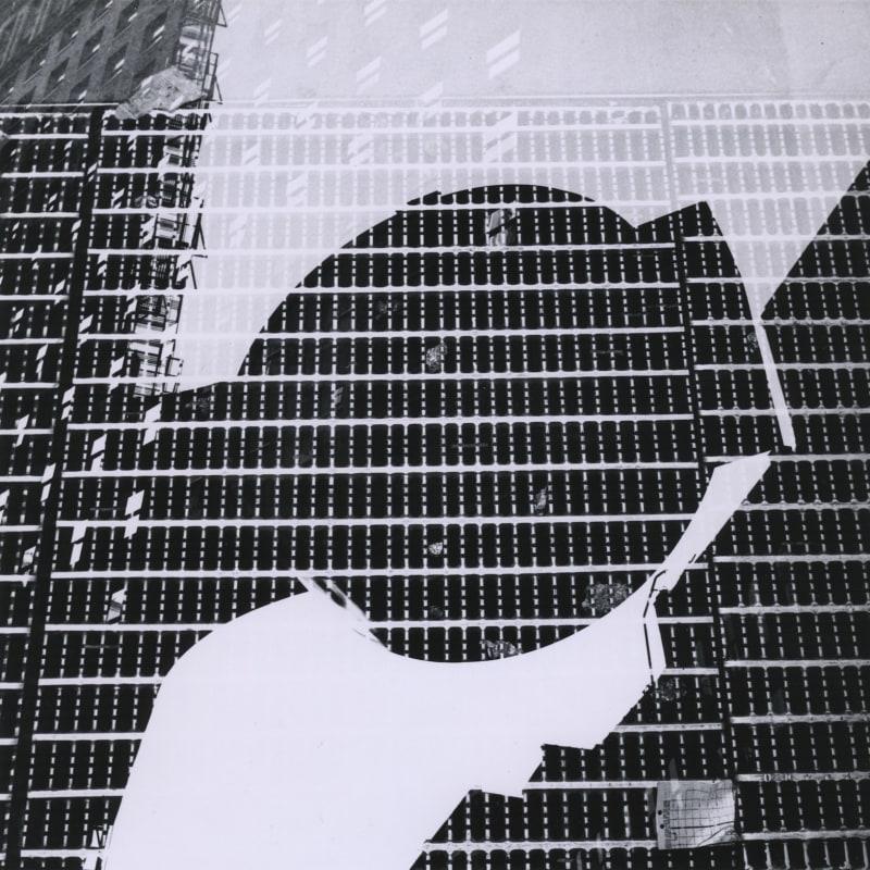 Ray K. Metzker Chicago Tirage gélatino-argentique d'époque, réalisé par l'artiste 18,8 x 18,5 Dim. papier: 20,3 x 25,4