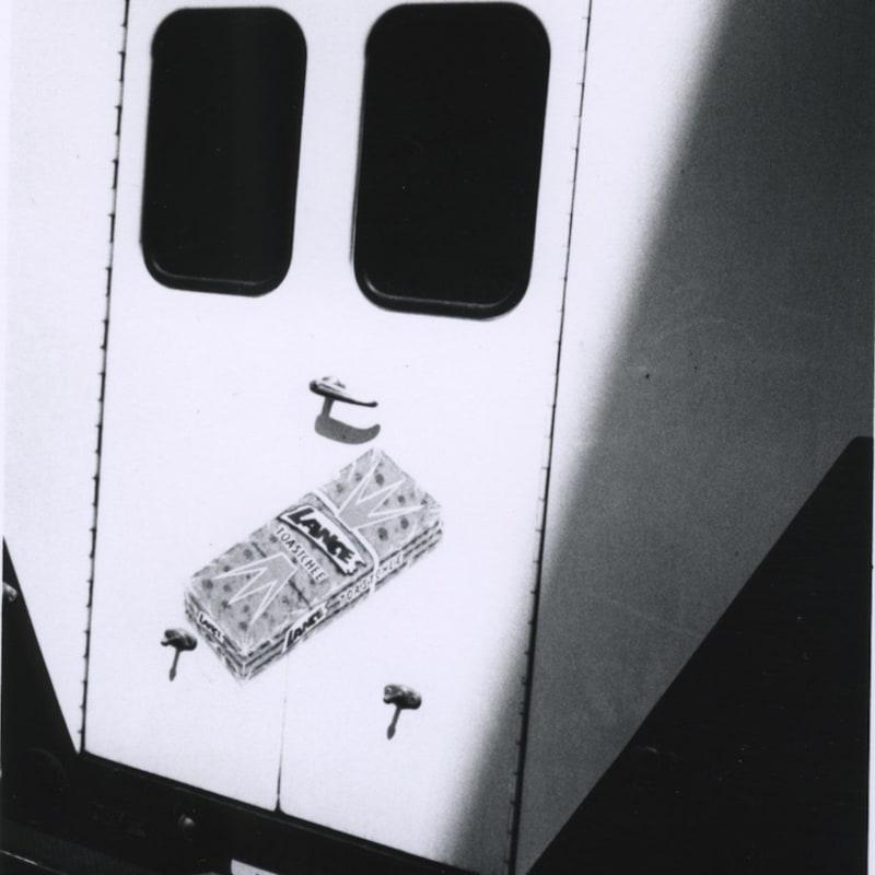Ray K. Metzker Wanderings, Atlantic City Tirage gélatino-argentique postérieur, réalisé par l'artiste 11,6 x 15,2 cm Dim. papier: 20,3 x 25,4 cm