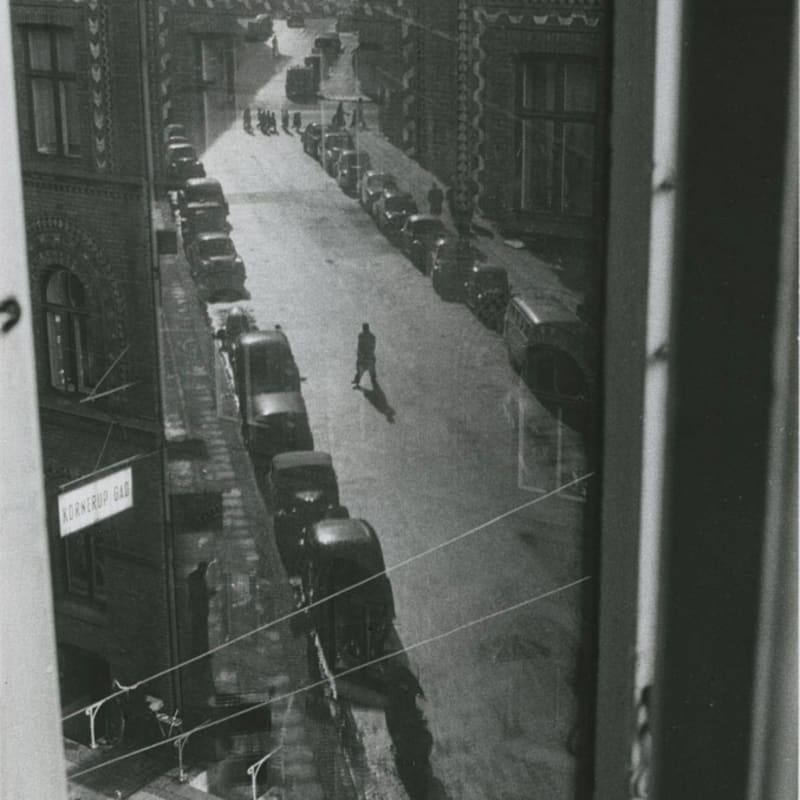 Sabine Weiss Danemark Tirage gélatino-argentique d'époque réalisé par l'artiste 20 x 30 cm Dim. papier: 20 x 30 cm