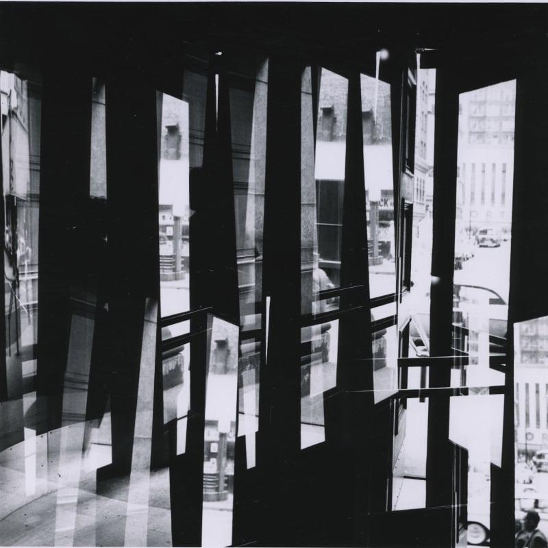 Ray K. Metzker Chicago Tirage gélatino-argentique d'époque, réalisé par l'artiste 18,9 x 18,6 cm Dim. papier: 20,3 x 25,4 cm