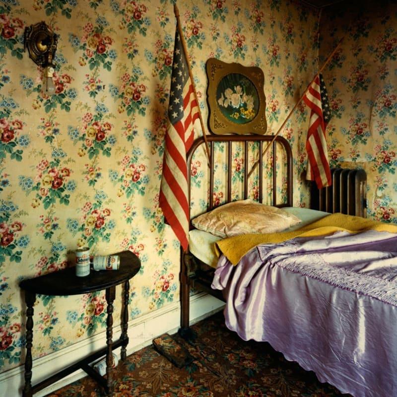 Bruce Wrighton The Union Hotel, Binghamton, NY Tirage C-print d'époque 20 x 25 cm Dim. papier: 20 x 25 cm
