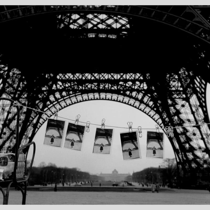 Sabine Weiss Paris Tirage gélatino-argentique postérieur 25,3 x 30,6 cm Dim. papier: 30 x 40 cm