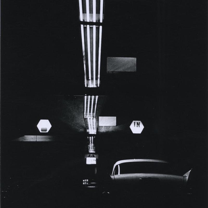 Ray K. Metzker Philadelphia Tirage gélatino-argentique d'époque, réalisé par l'artiste 15,1 x 22,3 cm Dim. papier: 20,3 x 25,4 cm