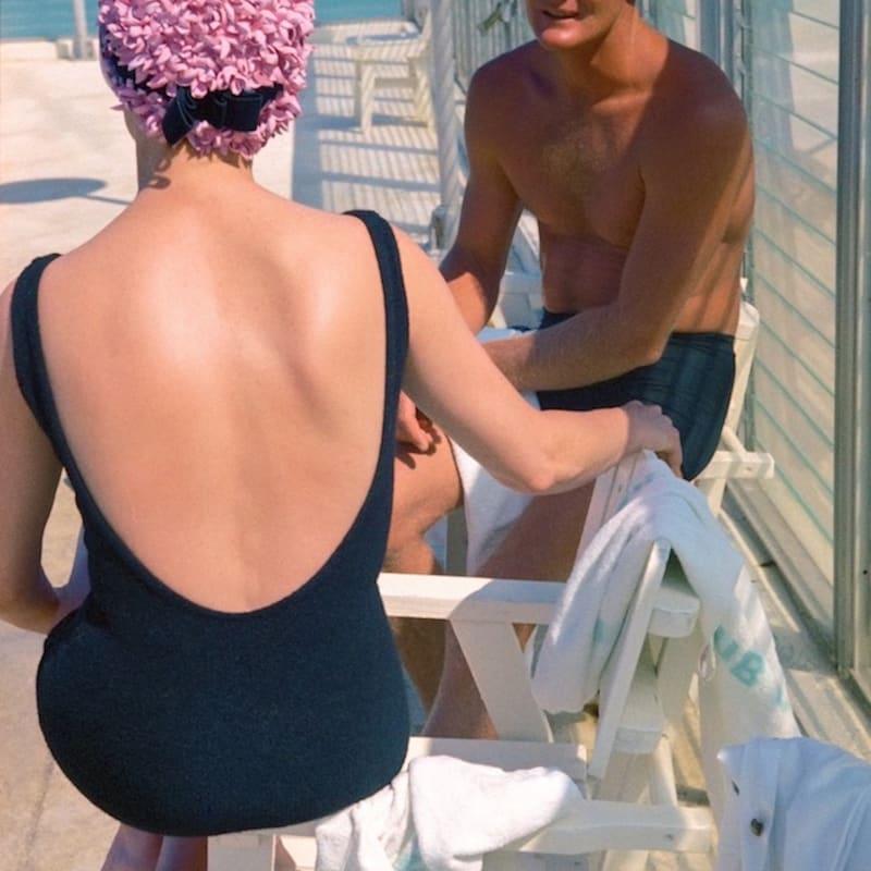 Vivian Maier Fontainebleau Hotel, Miami Tirage chromogène, posthume 25,3 x 38,2 cm Dim. papier: 40,5 x 51 cm