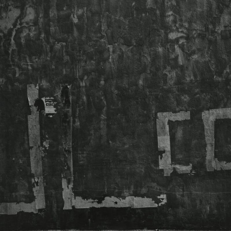 Aaron Siskind Vera Cruz 130 Tirage gélatino-argentique postérieur 24,2 x 24,3 cm Dim. papier: 28 x 35 cm