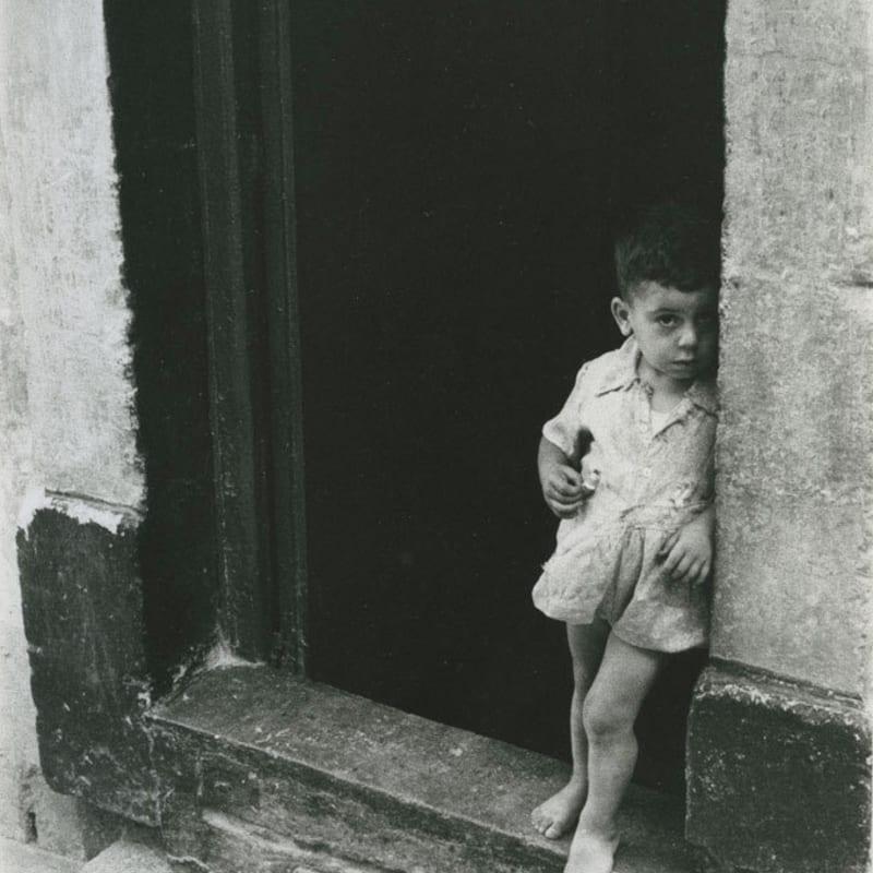 Sabine Weiss Malte Tirage gélatino-argentique d'époque réalisé par l'artiste 20 x 29,5 cm Dim. papier: 20 x 29,5 cm