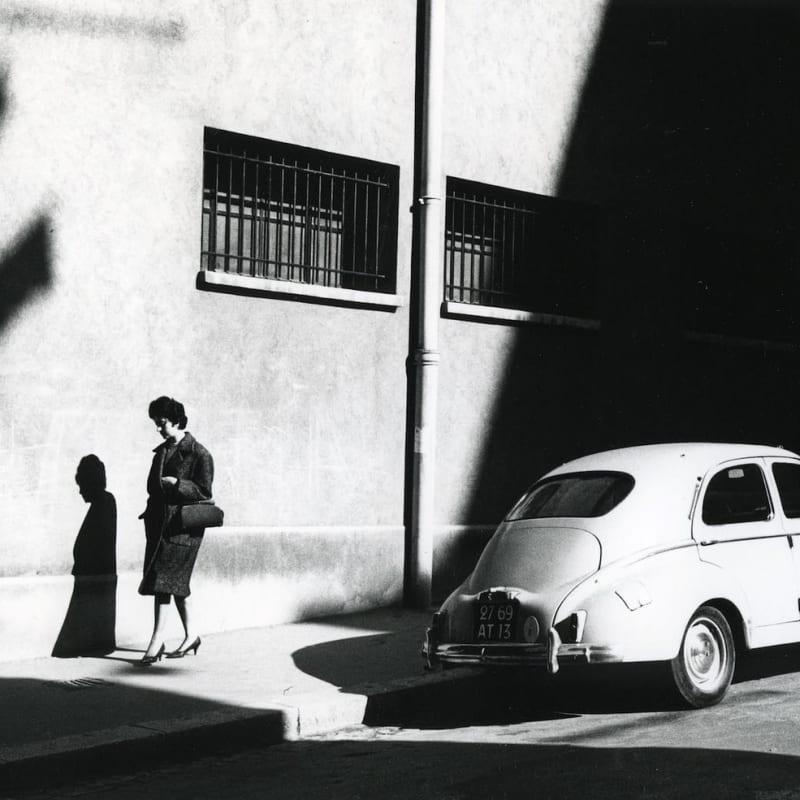 Ray K. Metzker Marseille, France Tirage gélatino-argentique d'époque, réalisé par l'artiste 22,5 x 15 cm Dim. papier: 20,2 x 25,2 cm