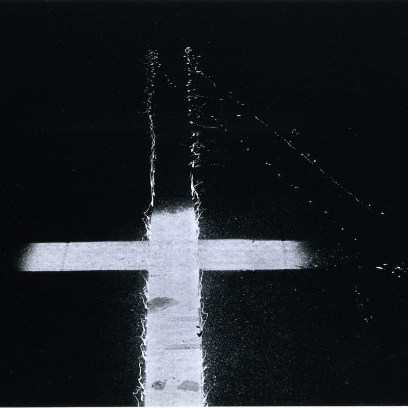 Ray K. Metzker Early Philadelphia Tirage gélatino-argentique d'époque, réalisé par l'artiste 22 x 14,5 cm Dim. papier: 32,5 x 28 cm