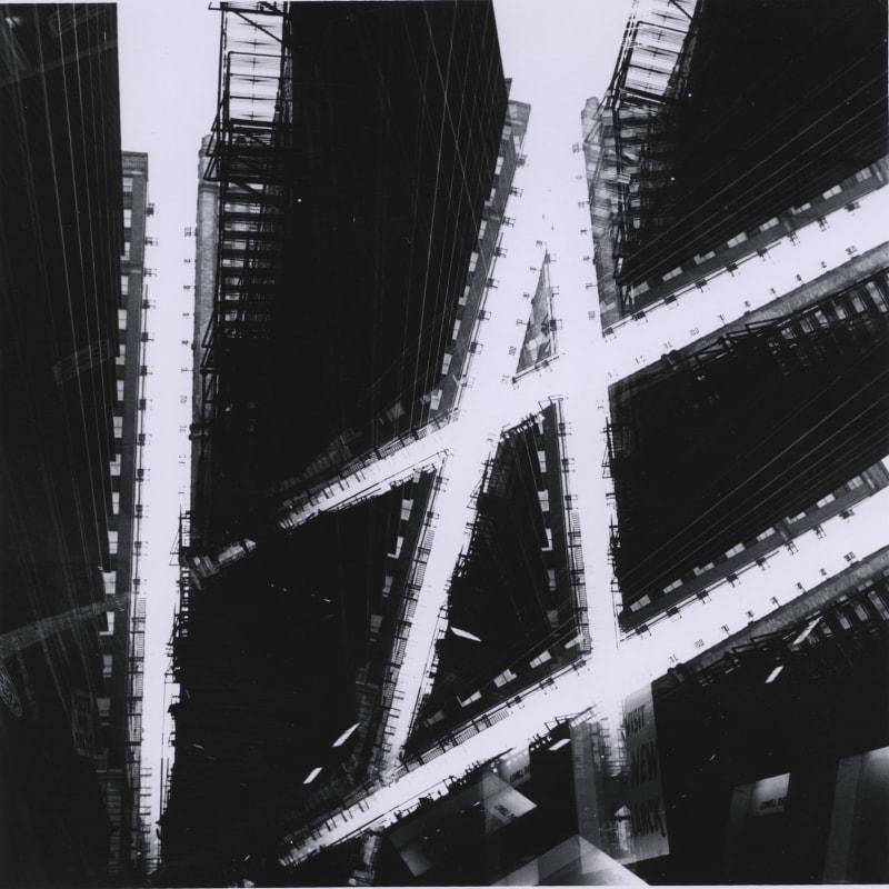 Ray K. Metzker Chicago Loop Tirage gélatino-argentique d'époque, réalisé par l'artiste 18,8 x 18,7 cm Dim. papier: 20,3 x 25,4 cm