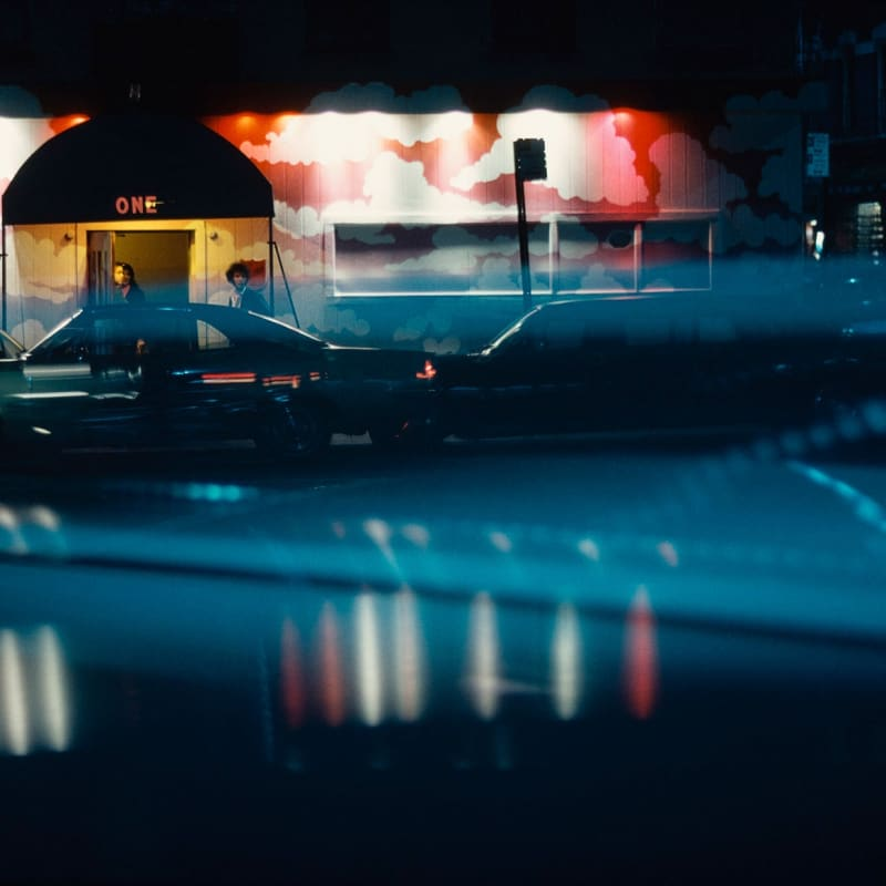 Ernst Haas One, New York, USA Tirage chromogène posthume 47,8 x 66 cm Dim. papier: 50,2 x 76 cm