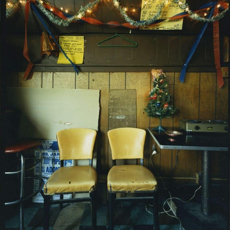 Bruce Wrighton Untitled (Tavern) Tirage C-print d'époque 20 x 25 cm Dim. papier: 20 x 25 cm