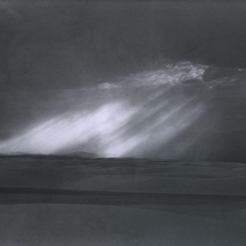 Ernst Haas White Sands, New Mexico Tirage gélatino-argentique d'époque Dim. papier: 25 x 21 cm