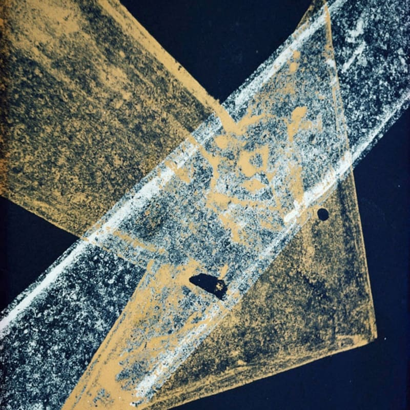 Ernst Haas Pavement, New York Tirage chromogène posthume Dim. papier: 40,5 x 50,7 cm