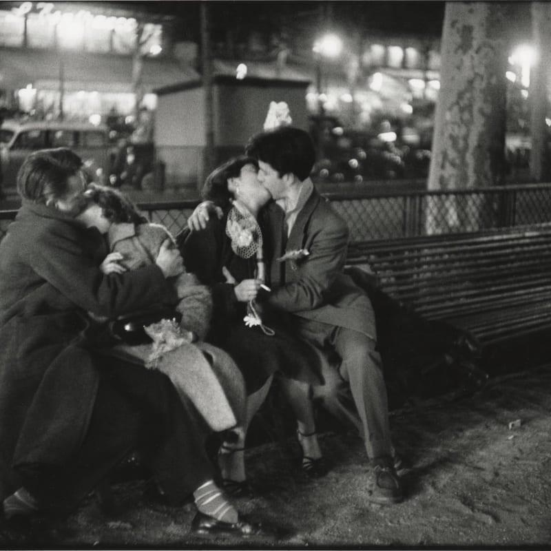 Sabine Weiss Paris Tirage gélatino-argentique postérieur 23,5 x 35,3 cm Dim. papier: 30 x 40 cm