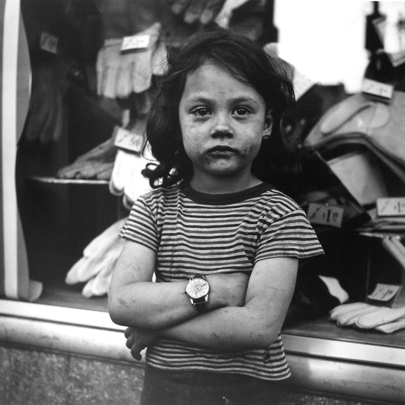 Vivian Maier New York, NY, n.d. Tirage gélatino-argentique, posthume 30 x 30 cm Dim. papier: 40 x 50 cm