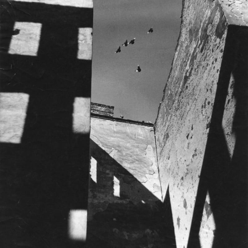 Ernst Haas Ruins in Vienna, Vienna after war Tirage gélatino-argentique d'époque Dim. papier: 20 x 23 cm