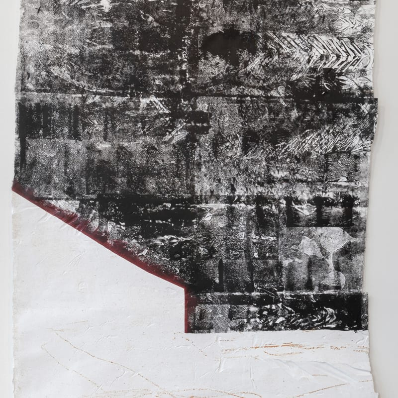 Tahir Carl Karmali, Blood at the border I, 2019