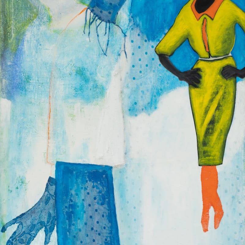 Cheryl McIntosh, Strange fruit (Lynching), 2021