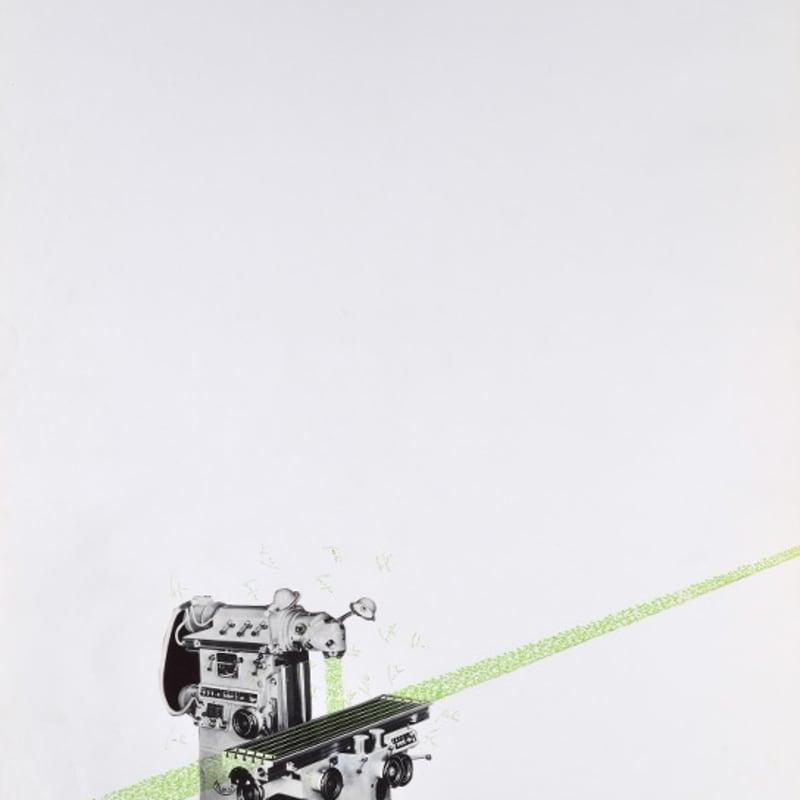 Bernard Heidsieck Machine à mots n°30 écritures et collage de photographie sur papier 64 x 50 cm (disponible) 25 1/4 x 19 5/8 (available)