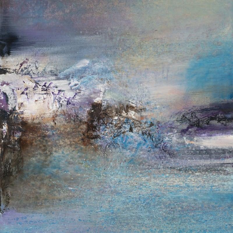 """Zao Wou - Ki Sans titre """"17.12.82"""" huile sur toile 81 x 65,1 cm x 2 cm 31 57/64 x 25 5/8 in."""