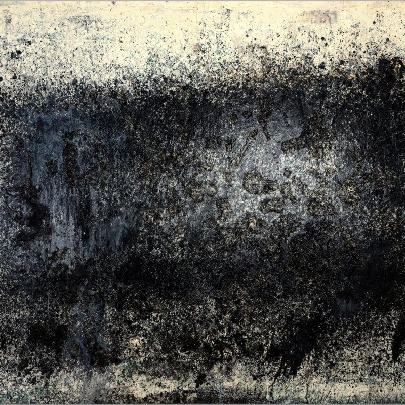 Toshio Yoshida Sakuhin (Work) huile et papier mâché sur toile 185 x 260 cm 72 7/8 x 102 3/8 in.