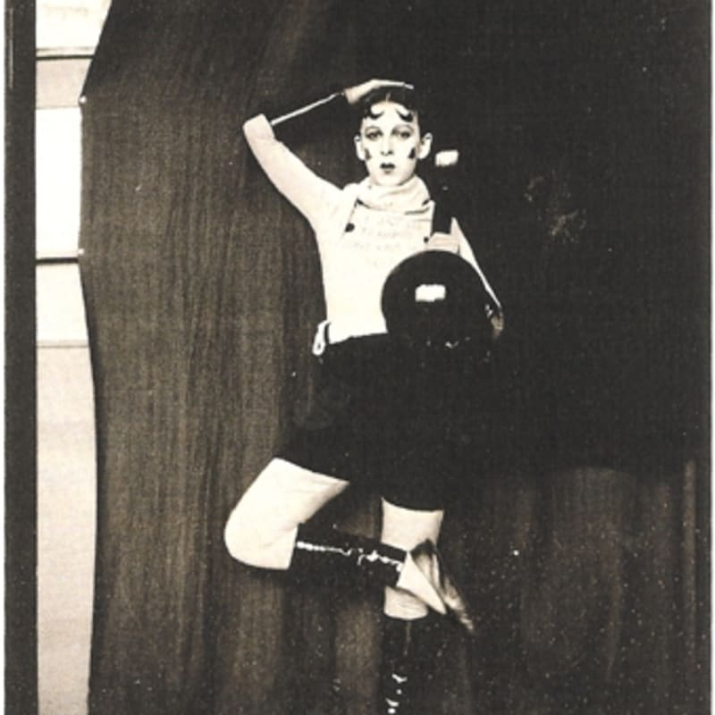 Claude Cahun Auto-portrait (don't kiss me I'm in training) tirage gelatine argentique 10 x 7,9 cm
