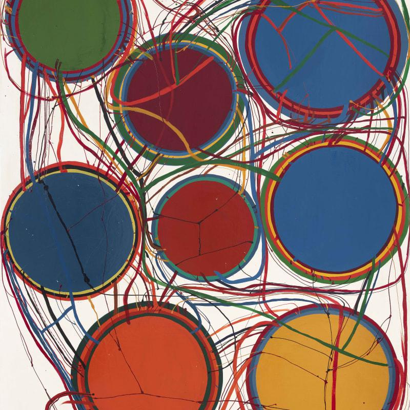 Atsuko Tanaka Untitled 162 x 131 cm