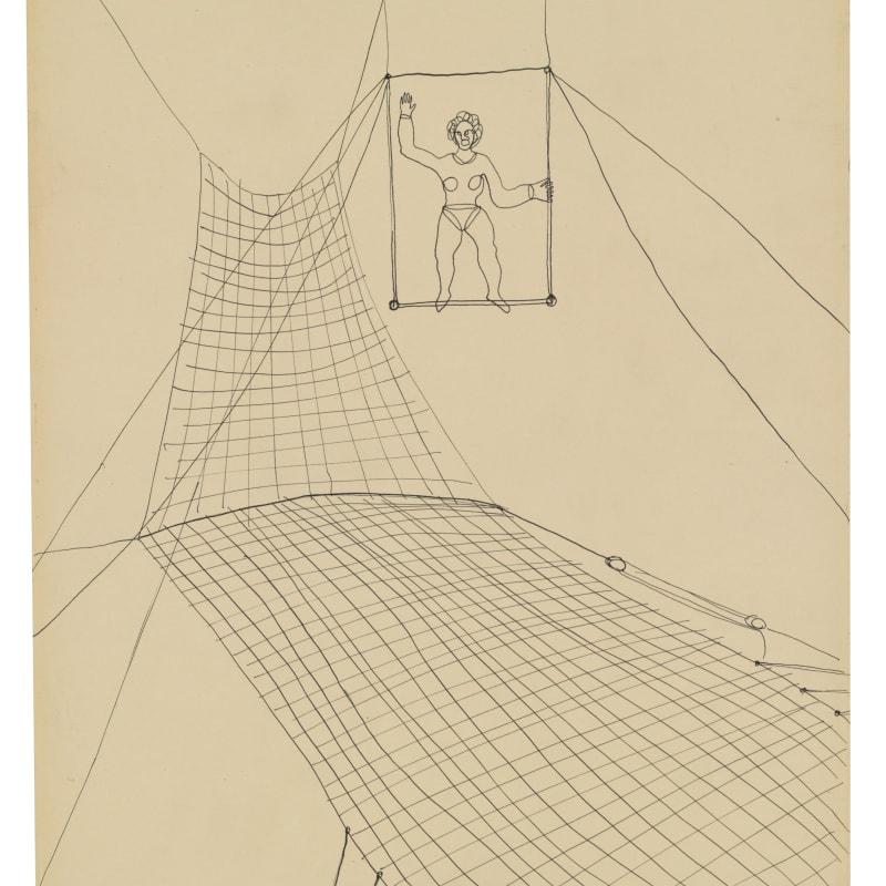 Alexander Calder Sans titre encre sur papier 48.26 x 35.56 cm 19 x 14 in