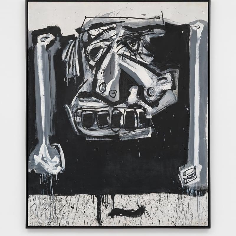 Antonio Saura Gran Cura II Huile sur toile 237 x 190 cm