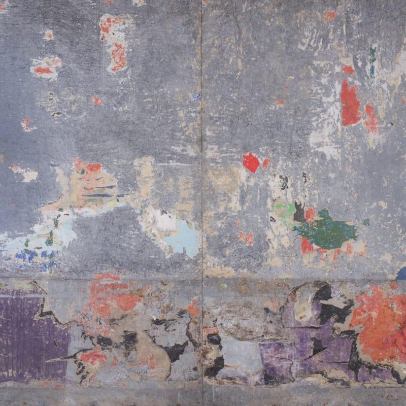 Raymond Hains Tôle affiches lacérées sur tôle 200 x 180 cm (archives) 78 3/4 by 70 7/8 in. (archives)