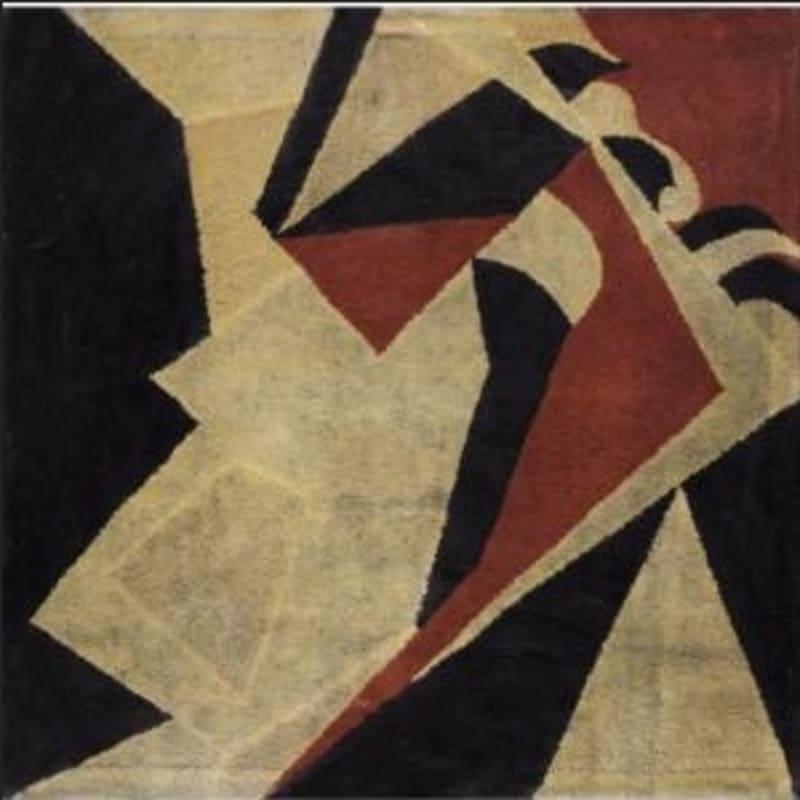 Jean Arp Composition en diagonales - crucifixion tapisserie de laine tendue sur châssis 122 x 122 cm 48 x 48 in.