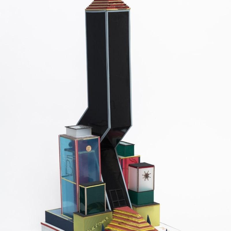 Bodys Isek Kingelez, Black Tower, 2000