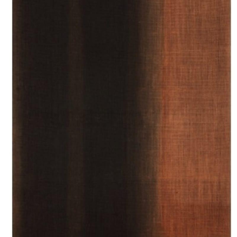 Hyong-Keun Yun Umber-Blue huile sur toile de chanvre 100,3 x 73 cm 39 1/2 x 28 3/4 in.