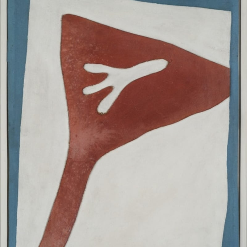 Jean Arp Feuille-nez collage sur carton 31 x 23 cm 21 1/4 by 24 3/4 in. (available)