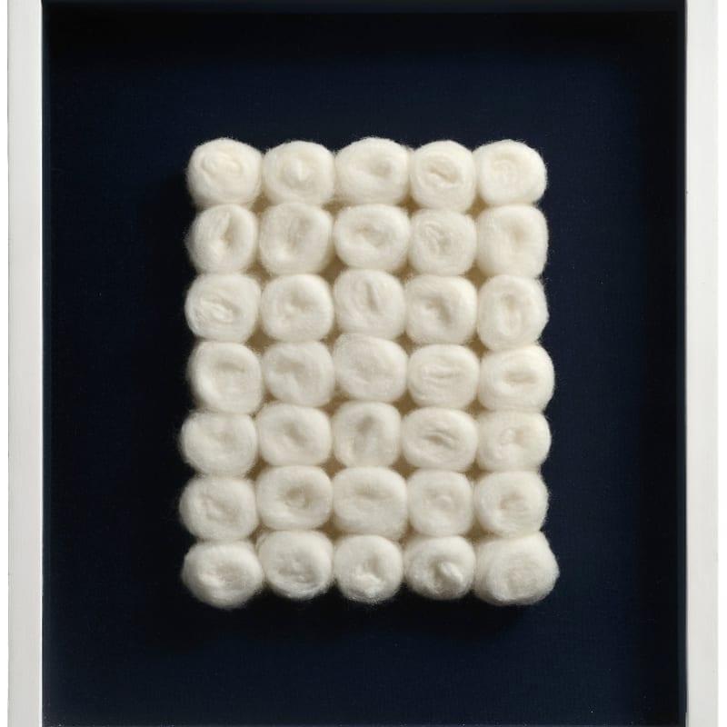 Piero Manzoni Achrome boules de coton 25 x 20 cm