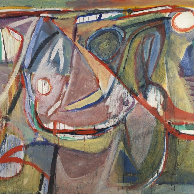 Bram Van Velde Untitled, (Paris, rue des Grands-Augustins) Huile sur toile 130 x 162 cm 51,2 x 63,8 in.