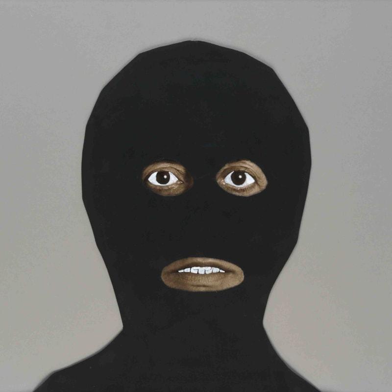 Esther Ferrer Artist as a terrorist Papier et tissus 35 x 50 cm
