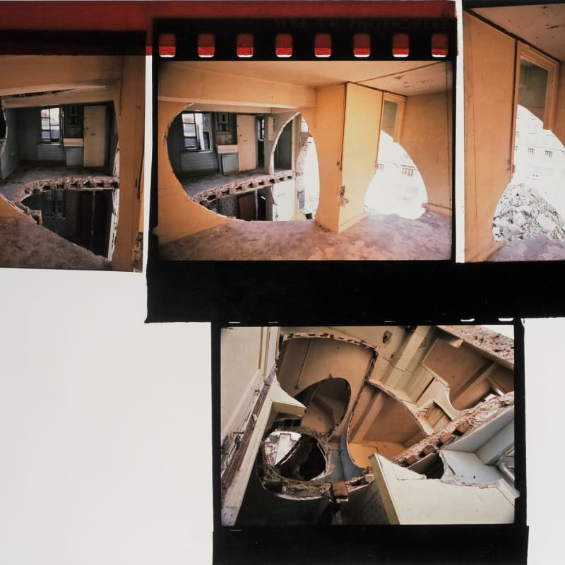 Gordon Matta-Clark Conical Intersect photographie cibachrome 76,3 x 101,5 cm (disponible) 76,3 x 101,5 cm (available)