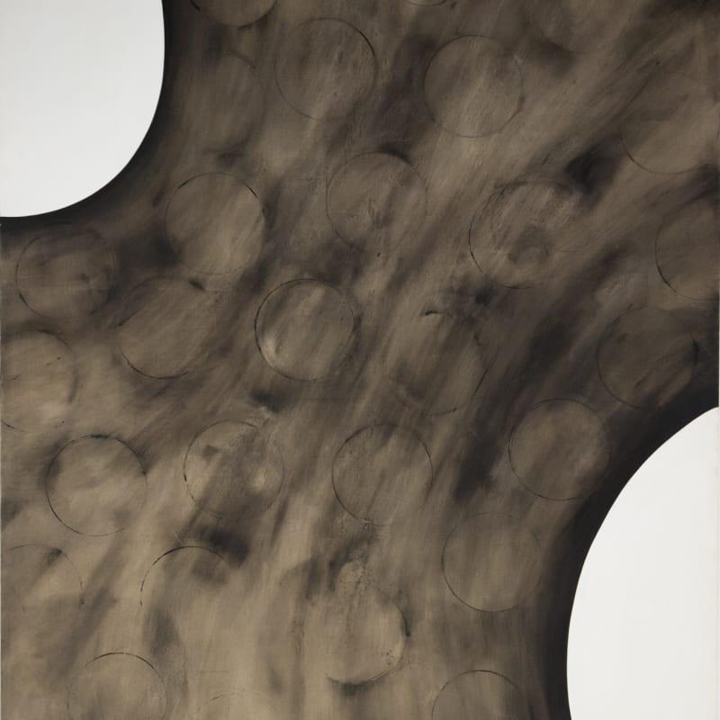 Hideko Fukushima Arc 32 huile sur toile 224 x 181 cm 88 1/4 x 71 1/4