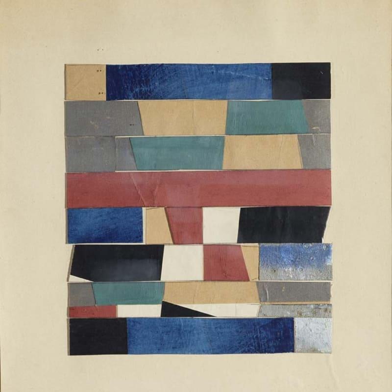 Jean Arp Sans titre collage de carton peint sur carton 36 x 33,5 cm (archives)