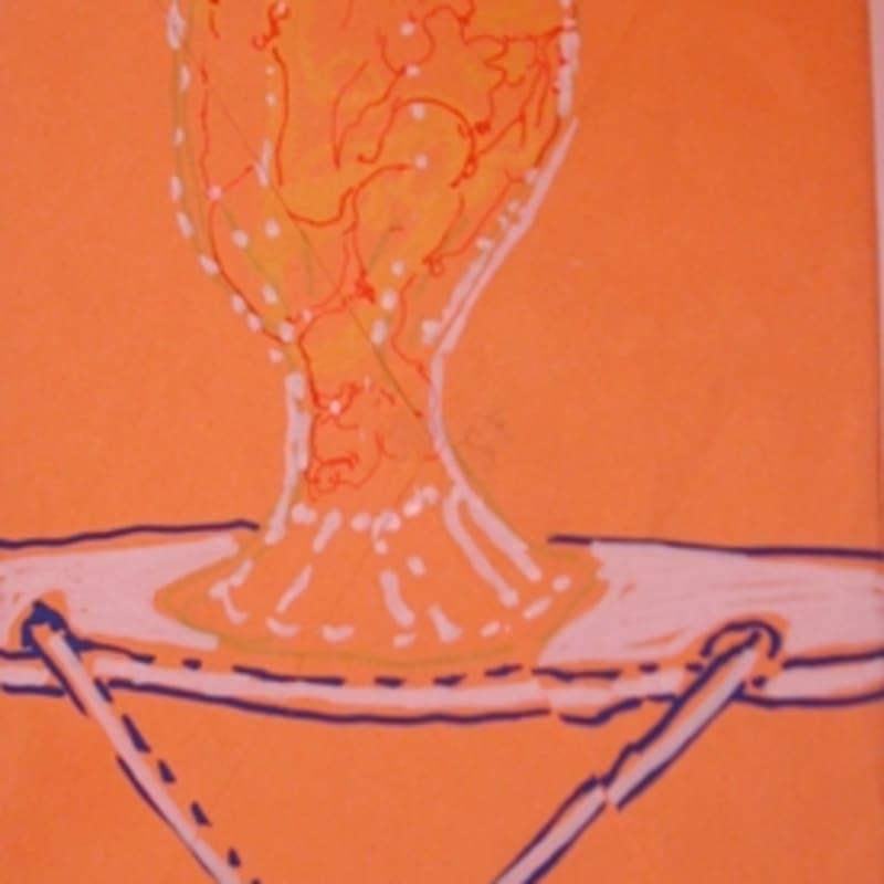 Sébastien Pignon Série des dessins-enveloppes crayon, feutre, aquarelle et encre sur papier 18 x 12 cm