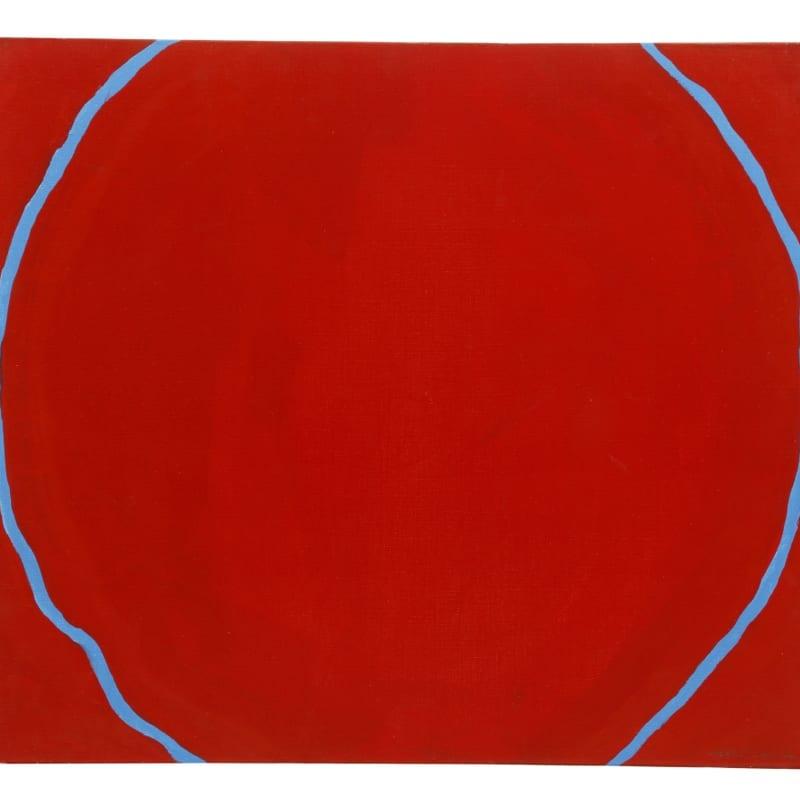 Jiro Yoshihara Sans titre huile sur toile 45,5 x 53 cm 86 5/8 by 139 3/8 by 11 3/4