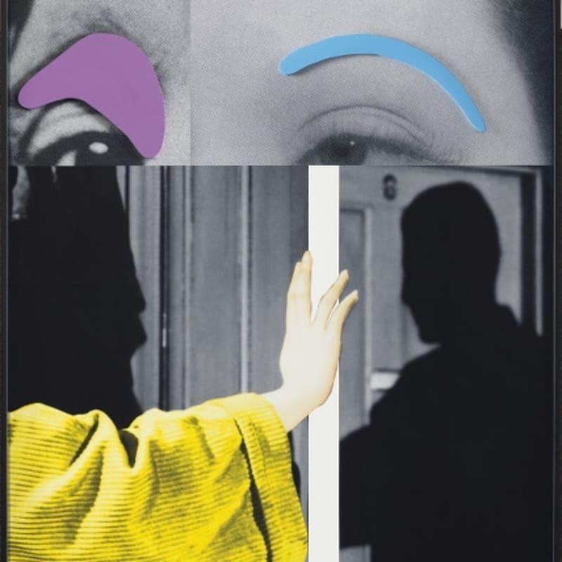 John Baldessari, Raised Eyebrows / Furrowed Foreheads: Arm (with Shadow), 2009